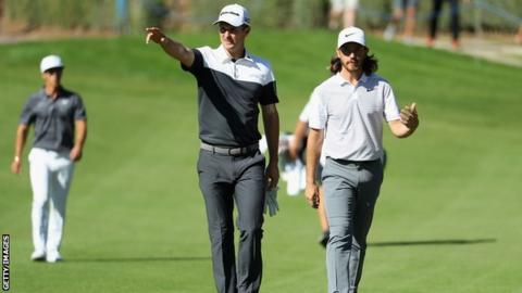 Justin Rose and Tommy Fleetwood