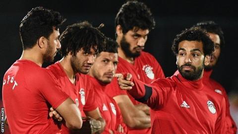 Egypt coach names squad for friendlies, including Mohamed Salah