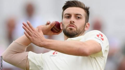 Mark Wood has played 10 Tests for England