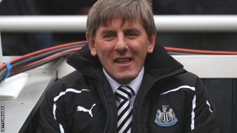 Former Newcastle coach Peter Beardsley