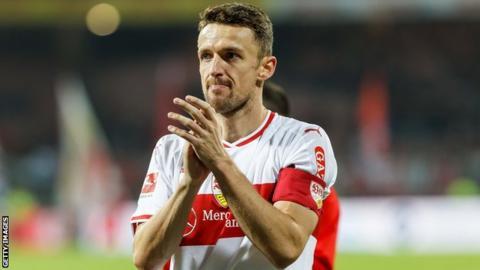 Stuttgart: Christian Gentner's father dies in stadium after Bundesliga game