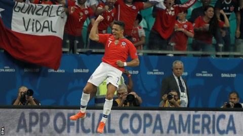 Chile beats Ecuador to reach Copa America quarterfinals