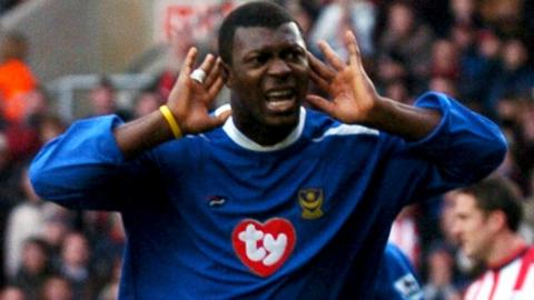 Yakubu's best scoring return in England was his 43 goals in 92 games, in all competitions, for Portsmouth