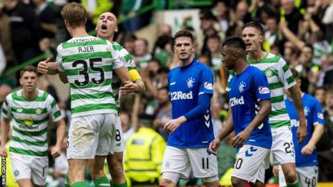 Celtic beat Rangers 1-0 in the first derby of the season in early September
