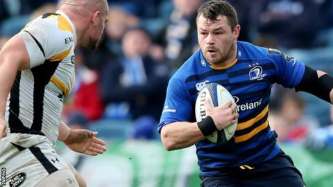 Cian Healy has made 148 appearances for Leinster since 2007