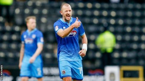 Luke Summerfield joined Grimsby Town in July 2016 on a free transfer