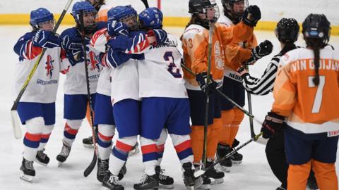 Ice hockey in Dumfries