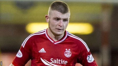 Aberdeen midfielder Craig Storie