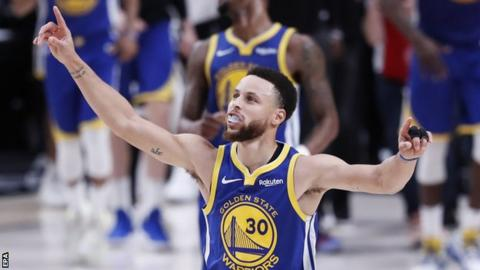NBA play-offs: Golden State Warriors into fifth straight NBA