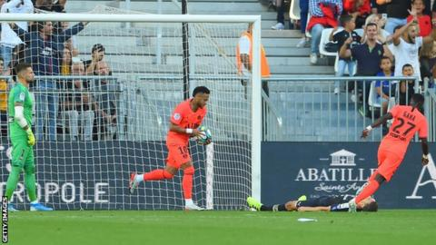 info for 5479c b4667 Bordeaux 0-1 Paris St-Germain: Neymar fires Ligue 1 leaders ...