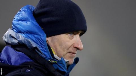 Mattie McGleenan's Cavan side will be guaranteed promotion if they beat Roscommon next weekend