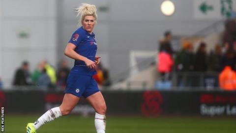 Millie Bright played 90 minutes for Chelsea on Sunday in the FA Cup