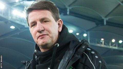 Daniel Stendel's only previous managerial experience was with Hannover 96