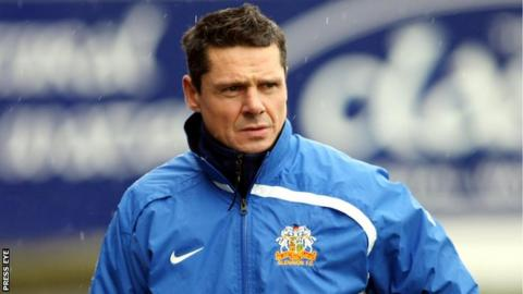 Stephen McBride formerly played for and managed Glenavon