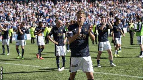 Falkirk lost in the play-off final last season after finishing second in the Championship