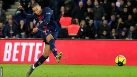 Kylian Mbappe reaches half century as PSG brush Nimes aside