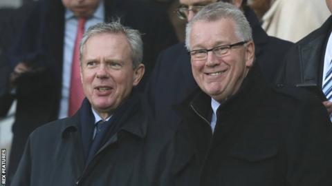 Trevor Birch (left), Brett Warburton (right)