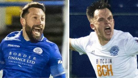 Stephen Dobbie and Lawrence Shankland