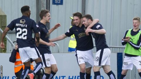 Falkirk beat St Mirren 3-2 on Saturday