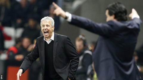 Nice boss Lucien Favre