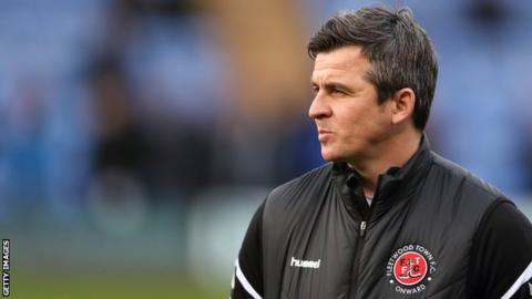 Joey Barton was impressed by Macaulay Southam-Hales during a trial spell
