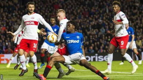 Rangers v Spartak Moscow