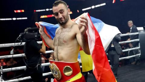 Murat Gassiev could become the first man in history to hold all four cruiserweight world titles