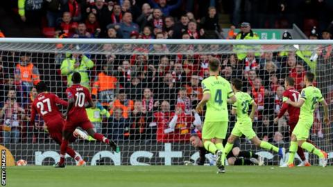 5d47aaea42b Divock Origi s early goal set Liverpool on their way to a remarkable victory