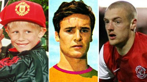 Kasper Schmeichel, Claudio Ranieri and Jamie Vardy
