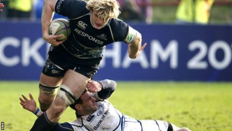 Richie Gray made his name with first club Glasgow Warriors