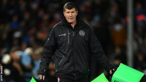 Exeter director of rugby Rob Baxter
