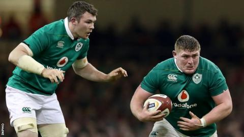 Peter O'Mahony and Tadhg Furlong
