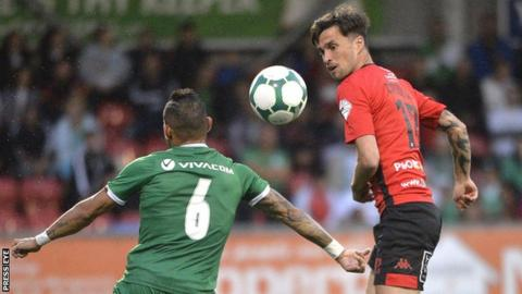 Crusaders can still extend their European campaign despite their defeat by Ludogorets Razgrad