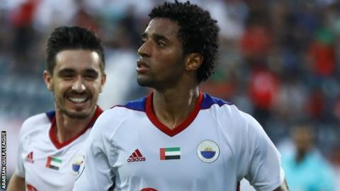 Cape Verde and Sharjah's Ryan Mendes