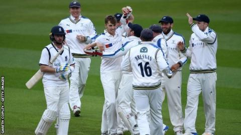 Bears captain Ian Bell managed just 12 runs in the match against Yorkshire, departing to pace in both innings