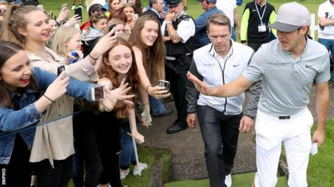 Niall Horan's presence at the Northern Ireland Open in recent years has helped to swell attendances