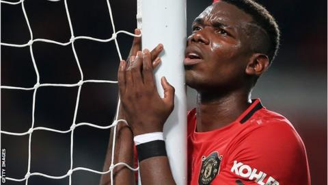 Pogba's Man United return delayed due to illness - Solskjaer