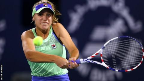 Kenin Outlasts Van Uytvanck to Reach Lyon Final