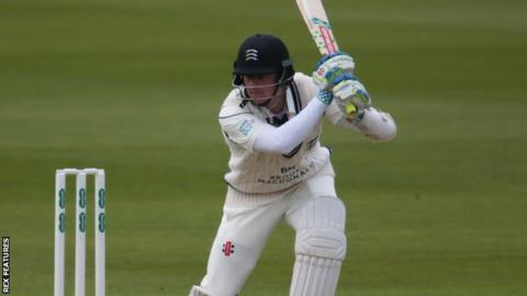 Middlesex and England opener Sam Robson