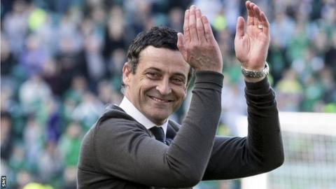 St Mirren manager Jack Ross