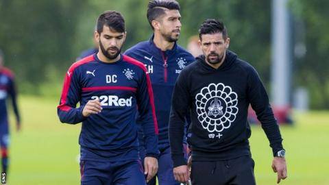 Nacho Novo at Rangers