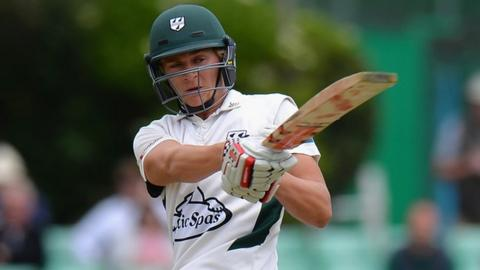 Worcestershire's England Under-19s batsman Joe Clarke