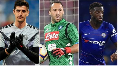 Thibaut Courtois, David Ospina and Tiemoue Bakayoko have made moves to Europe this summer