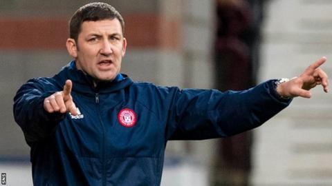 Martin Canning took over as Hamilton manager in January 2015