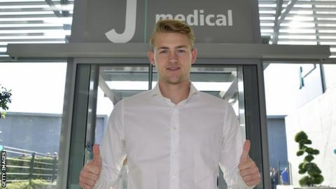 Netherlands international Matthijs de Ligt