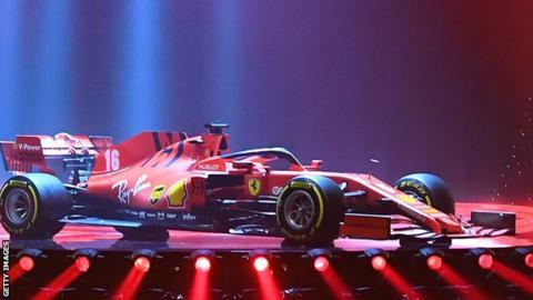Ferrari's car for the 2020 Formula 1 season