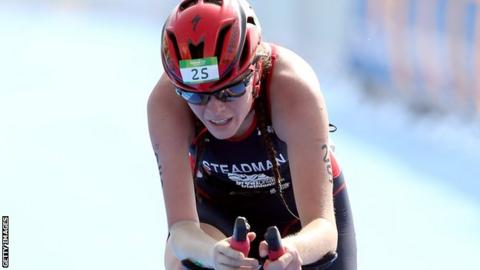 Britain's Lauren Steadman