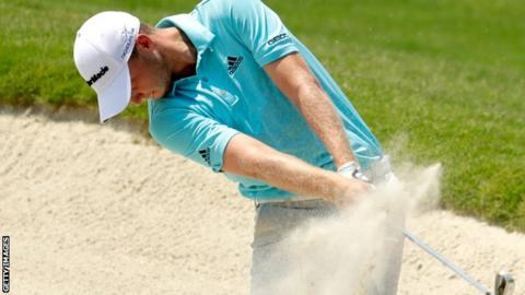 Daniel Berger in third-round action