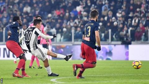 Allegri: Dybala Has Potential For More