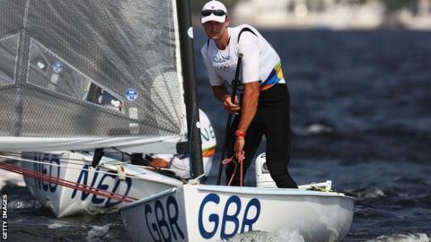 British Olympic sailing champion Giles Scott